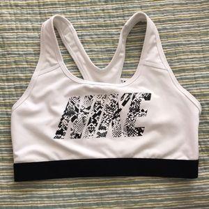 Nike snakeskin print sports bra!